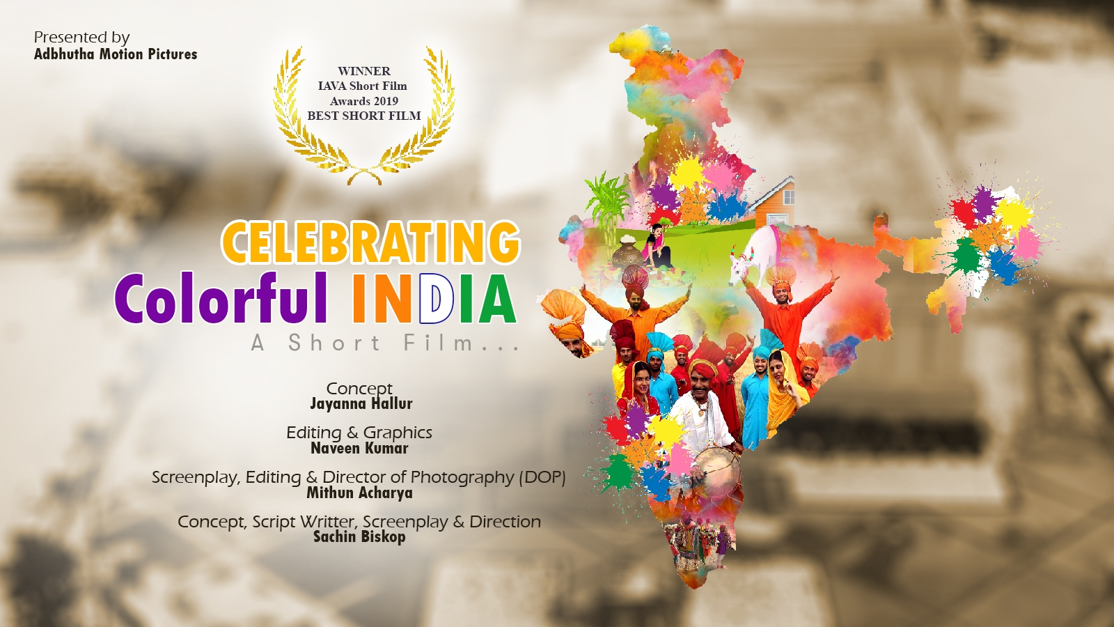 Award Winning English Short Film (2019) | Celebrating Colorful INDIA | on Indian Festivals